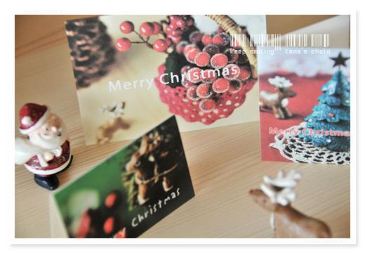 サンタとトナカイ カード見学。.jpg